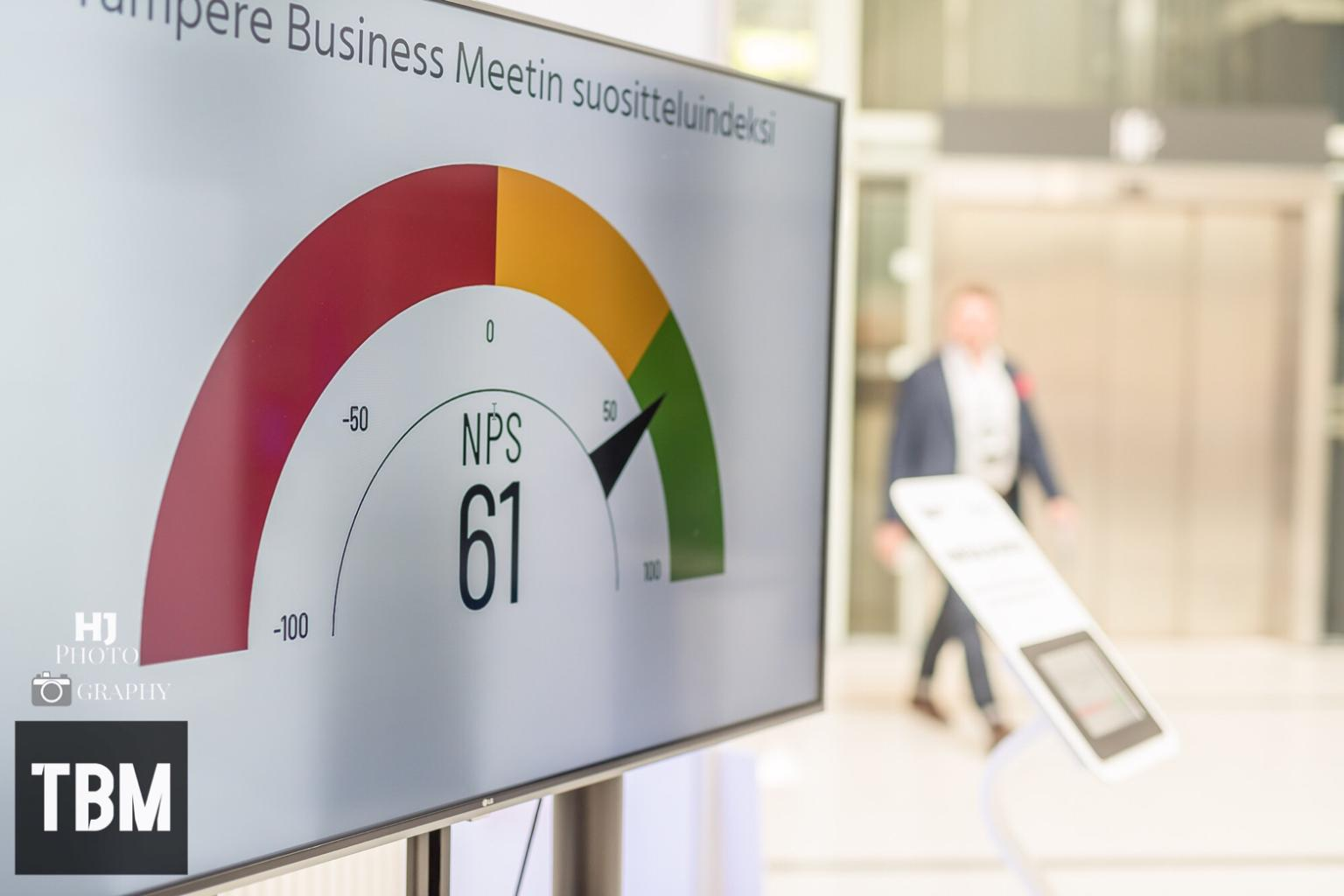 Tampere Business Meet asiakaskokemus